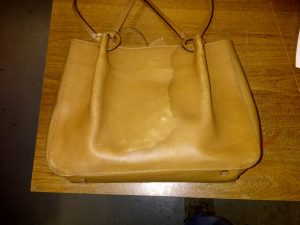 Large Handbag before restoration