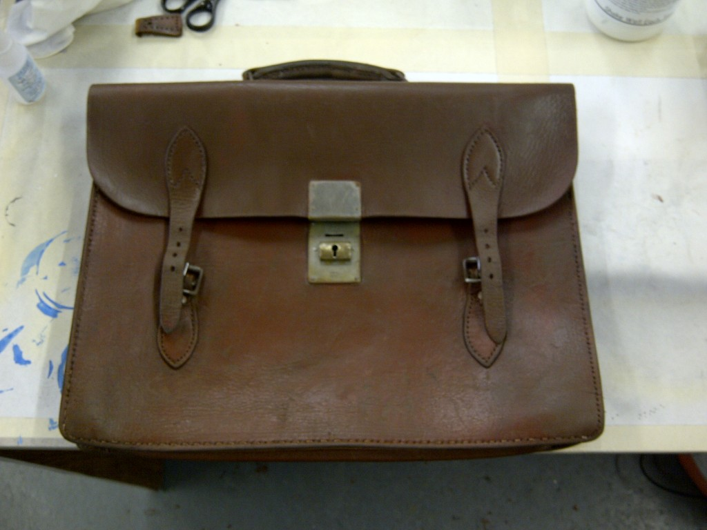 Leather Bag Restoration Shines